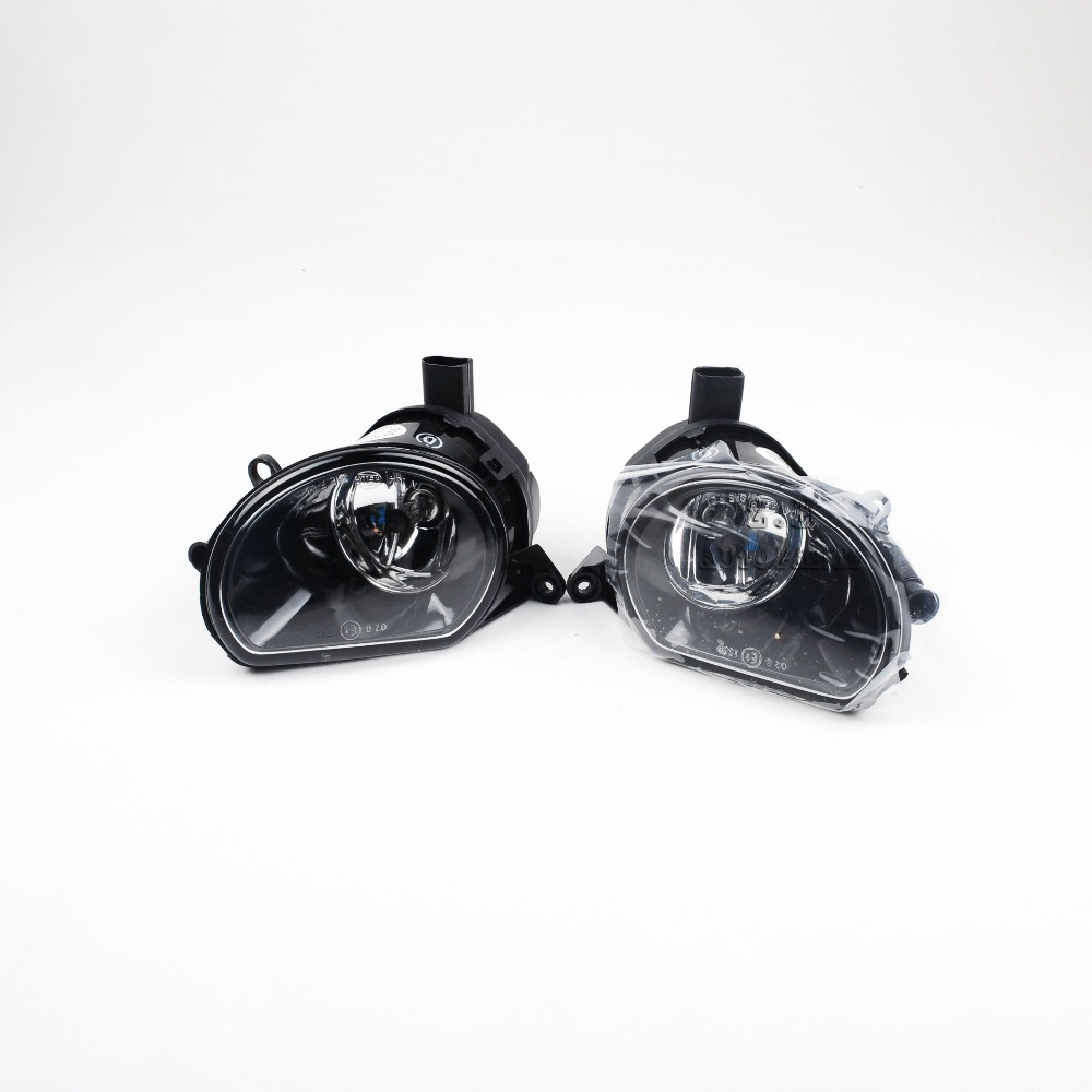 0EM Pair Of Front Clean Fog Lights Fog Lamps Fit AUDI Q7 07-09 A3 8P1 8PA 04-08 8P0 941 699 A 8P0 941 700 A NEW<br>