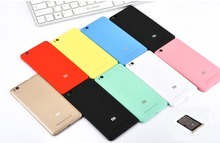 With Sim Card Slot Official Original version for Xiaomi 4c Mi4c M4c 4c Back case Battery Back cover phone case