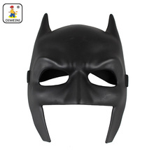 DIWEINI Black Batman Figure Toy Latex Full Face Mask Adult Superhero Bruce Wayne Party Props Costume Cosplay Rubber Masks