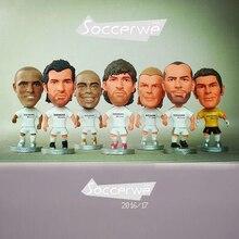 Real Madrid 2005 Classic [7PCS + Display Box] Soccer Player Star Figurine 2.5