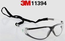 3M 11394 Safety Gasses Windproof Anti-uv Protective Glasses Working Eyeglasses(China)