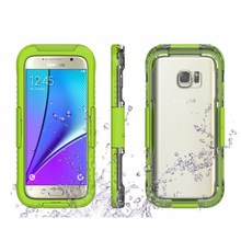 S7 Edge Box Waterproof Transparent Case For Samsung S6 Edge Plus S7 Edge Note 4 Note 5 Phone Cover Sports Swimming Capa