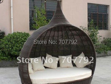 Elegant synthetic rattan chairs