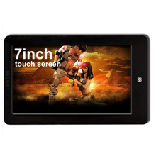 7 inch touch sereen MP4 player with 8GB capacity MP3 MP5 Player E-Book Reading LANQIN