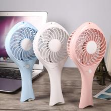 Portable Mini USB Cute Handheld Rechargeable Cooling Fan Practical for Office Home Use Student Air Conditioner Cooler
