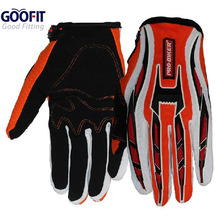 Goofit 2016 Mens Motorcycle gloves Bicycle Cycling Full Finger Breathable Gloves Motorbike Racing motocross Sports Gloves CE-01