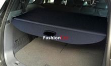 Black Color Rear Trunk Security Shield Cargo For Ford Everest SUV 4 Door 2015 2016 Car styling