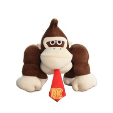 "Super Mario Bros. Donkey Kong Plush toy Monkey Animal Stuffed Doll 10""/26cm"