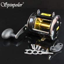 High Strength Carbon Washer 25KG Drag Power Trolling Fishing Reels 8 Stainless Steel Ball Bearings 3.4:1 Surf Sea Fishing Reel(China)