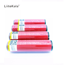 4PCS Protected original Liitokala For Sanyo 18650 2600mah battery 3.7v li-ion rechargeable battery(China)