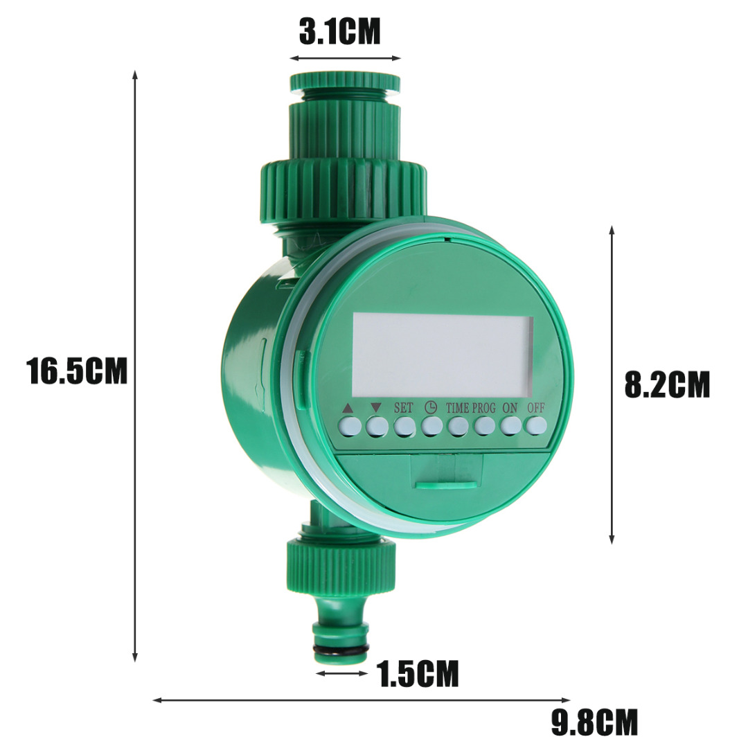 Automatic Digital LCD Display Water Timer Garden Watering Timer Irrigation Controller System