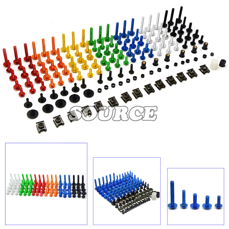 Brand new Universal CNC Motorcycle Accessories Fairing body work Bolts Screws for SUZUKI Boulevard M109R Limited Edition/ TU250X<br><br>Aliexpress