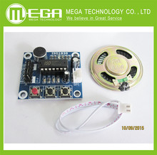 Free shipping , 10pcs /LOT ISD1820 Voice Recording Recorder Module With Mic Sound(China)