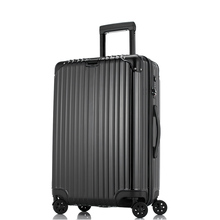 5 Sizes Hardside Travel Trolley Luggage Suitcase PC Aluminum Frame With TSA Lock Hardside Rolling Luggage Suitcase With Wheels