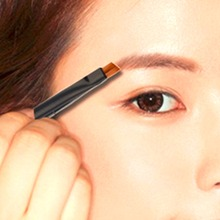 1Pcs Pro Good Quality Oblique Angled Eyebrow Brush Eye Liner Brow Tool Makeup Pen for beauty Hot Selling(China)