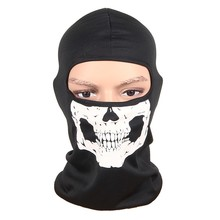 Balaclava Windproof Skull Full Face Neck Guard Masks Headgear Hat Cap