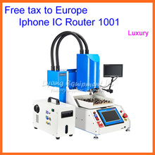 Free tax to Europe, LY 1001 Automatic iphone IC CNC Router Grinding Machine for iPhone, iPad Repairing