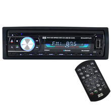 Hot Single Din Car Bluetooth DVD CD Player Vehicle MP3 Stereo Radio Fashion item 17Sept14(China)