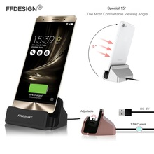 Charger Dock Stand Docking Station for Asus Zenfone 3 Max 2 Laser Go Selfie Zoom Zenfone 4 5 6 Charging Dock Bracket Cradle Sync(China)