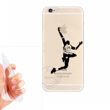 2017 New No.23 Jordan Basketball Superstar Hand Grasp the Logo Ultra Thin Soft TPU Gel Silicon Cover Case For Apple iPhone 6 6S