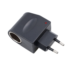 Car Charger 110V-220V AC to 12V DC EU US Plug Auto Car Power Adapter Converter Household Car Cigarette Lighter Socket Power(China)