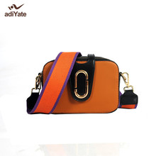 adiYate Small Square Package Leather Ladies Cheap Women Lock Clutch Bags Designer Handbags Leather Small Square Package