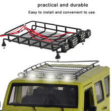 Practical and Durable Aluminum Roof Luggage Rack with LED Light Crawler Tray Roof Luggage Rack for Your Car Drop Shipping