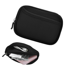 Besegad Storage Bag Carrying Case Cover Skin Shell Pouch for Polaroid Zip LG Kodak Fujifilm Pocket Photo Paper Charging Cable