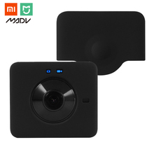 Silicone Cover Case Skin Cap Protector for Xiaomi Mijia Mi Sphere Camera Kit 360Degree Panoramic Sport Action Camera Accessories(China)