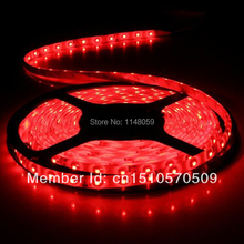 5m waterproof 300LED 3528 SMD 12V flexible LED Strip light 60led/m white/warm white/blue/green/red/yellow(China)