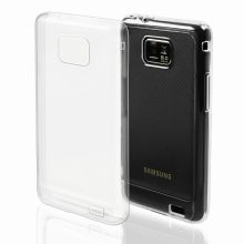 CASE in silicone trasparente ultra slim per For Samsung Galaxy S2 / S2 Plus CRYSTAL CLEAR mobile phone case samsung galaxi s2
