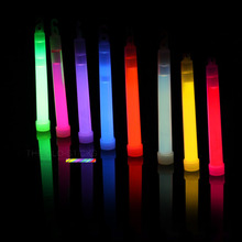 Colorful Chemical Glow Sticks Camping Emergency Flashing Stick With Hook For Dancing Birthday Wedding Festival Party Light Stick