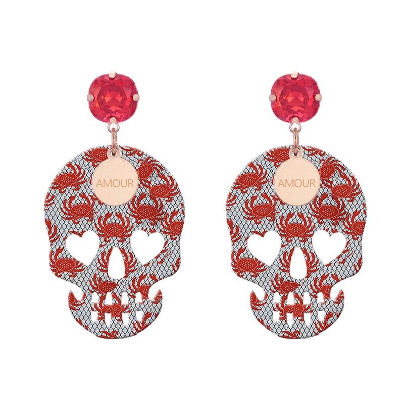 Earrings For Woman pendients drop Earrings 2018 summer now color (3)