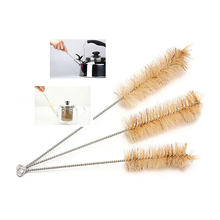 3pcs/Set Big Mid Small Test Tube Brushes Bottle Lab Cleaning Brushes Cleaner Laboratory Supplie For Household Housework
