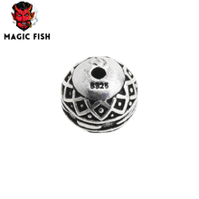 Magic fish metal beads spacer beads DIY Jewelry Making Fashion accessories bracelets homme pour la fabrication de bijoux perline(China)