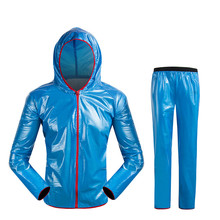 Outdoor Sports Rain Coat Men Women Brand Windproof Waterproof Bike Bicycle Reflective Logo Jacket For Climbing Camping(China)