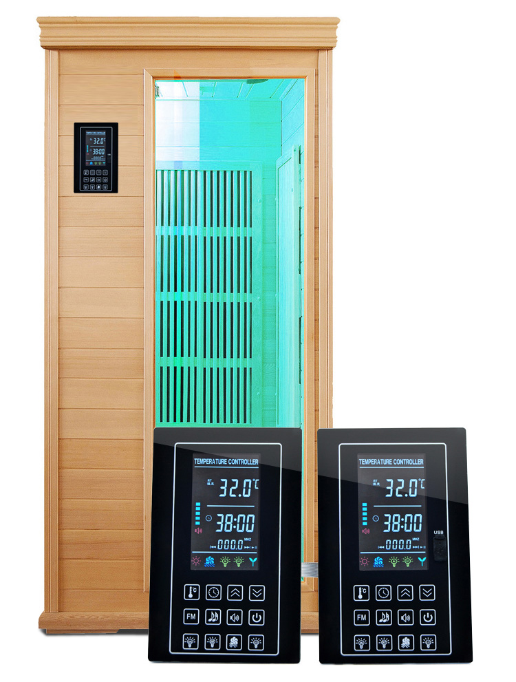 LCD Infrared Sauna Thermostat Controller with USB port for MP3<br><br>Aliexpress