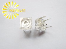 1000PCS x 5mm Transparent Piranha Warm White Water Clear 5 mm Super Flux LED Diode Bulb Round Light Emitting Diode LED Lamp