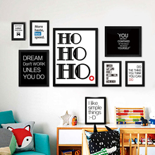 English Phrase Text Motto Inspirational  Poster Image Art Canvas Print Life Modern Home Living Room Bedroom Decor No Frame