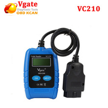 Vgate VC210 VAG Code Scanner OBD-II OBD II OBD2 EOBD CAN Code Reader Diagnostic Scan Tool vgate vc210 for vw for audi(China)