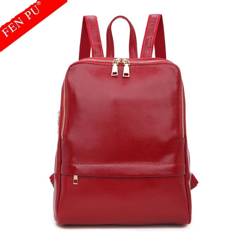2017 Genuine Leather Backpack Women Backpacks Soft Leather Female School Bags for Girls Hot Fashion Women Backpack Taravel Bag<br>