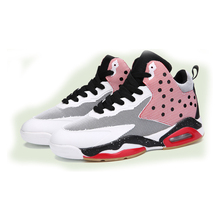 2016 lovers style for man outdoors basketball shoes sports air mesh breathable comfort light weight stable height increasing 216