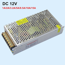 High Quality 12V 1A 2A 3A 5A 8A 10A 15A 20A 30A 360W Switching Power Supply Driver For LED Light Strip Display AC200-240V