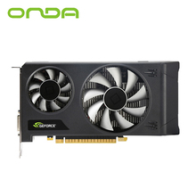 Original Onda NVIDIA GTX1050 Graphics Card 2GB GDDR5 128bit Gaming Video Card With HDMI+DP+DVI and Two Cooling Fans For Desktop