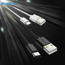 RAXFLY Type C USB Cable Samsung Galaxy S8/Note7/8 Data Sync USB Data Cable Xiaomi 5/5s Type-C Cable USB Phone Charger