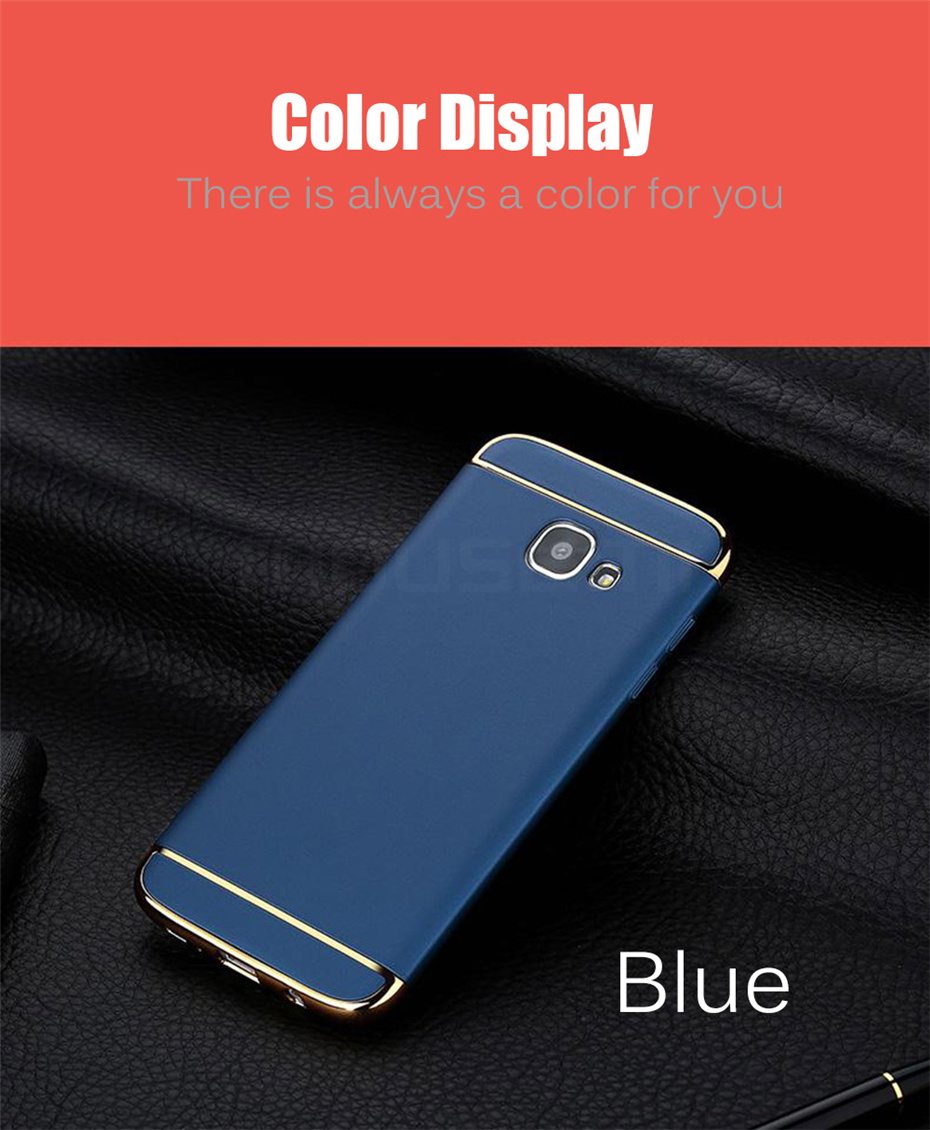 MOUSEMI Phone Cases For Samsung Galaxy A3 A5 A7 2016 2017 Case Luxury For Samsung Galaxy A8 plus 2018 Case 360 Full Covers Coque (9)