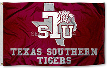 Buy Texas Southern Tigers TSU University Flag 150X90CM NCAA 3X5FT Banner 100D Polyester grommets custom009, free for $6.23 in AliExpress store