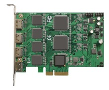 PCI Express HD Video Capture Card 1080p - 4 Channel HDMI Real Time(China)