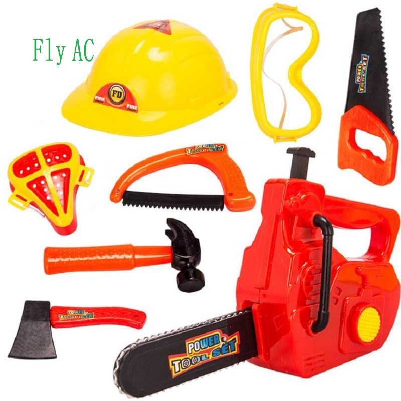2018 fly ac little handyman kids toy tool belt set with accessories ...