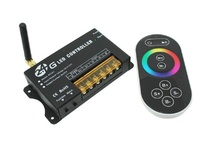 DC5-24V 3Channels 8A/CH Remote Control 2.4Ghz RF RGB LED Controller for RGB LED strips, LED Modules, LED Wall Washer